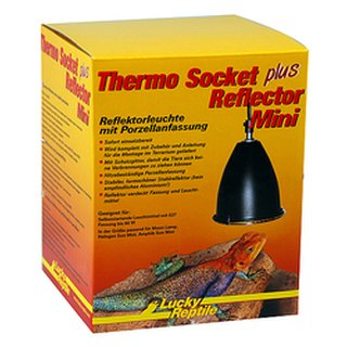 Lucky Reptile Thermo Socket + Reflector, Mini