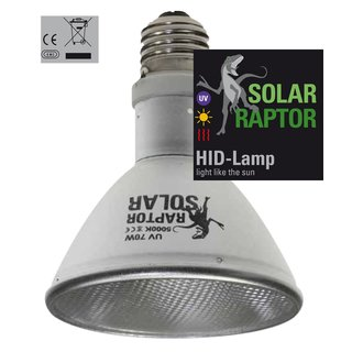 Solar Raptor UV ALU, 70 Watt, Flood