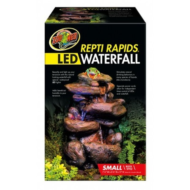 Waterfall Mit Led Beleuchtung Rock Small 68 45